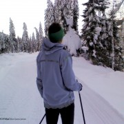 Cross-country skiing in Obertilliach