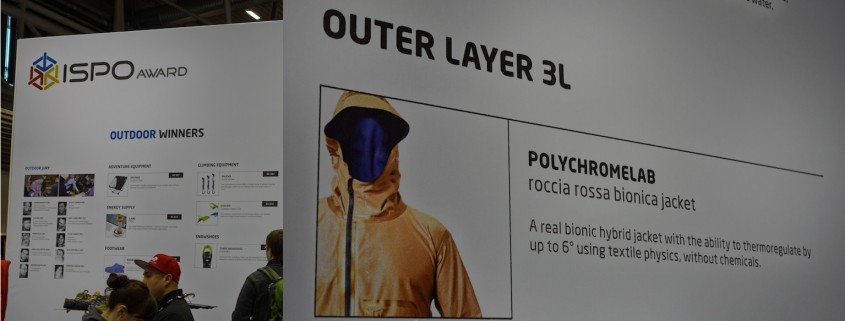 ISPO Award 14 OUTER LAYER 3L
