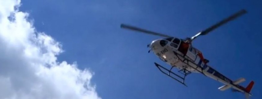 Workingday with Helicopter