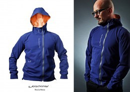 multifunctional hybrid outdoorjackets AWS polychromelab