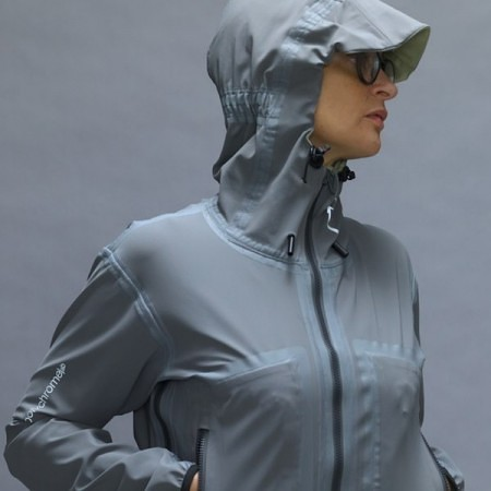 Funktionale Outdoorjacke Damen grau Webshop