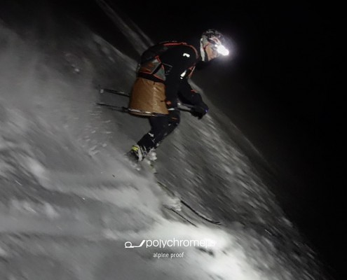 night skiing tyrol winter alps product innovation