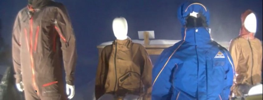 windtest winterjackets outdoor